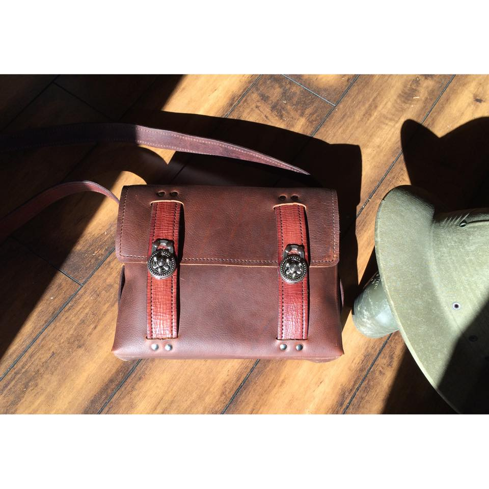 Stacey Leather Purse